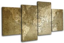 world Old Green/Black Maps Flags - 13-0182(00B)-MP04-LO